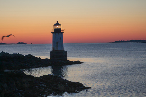 Winter Island Light House - Salem MA