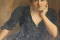 Painting believed to be of Lilyan Stratton Corbin