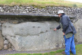 Curbstone at Newgrange