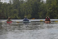 16 Hags Paddled the Transquaking River &#8211; One got Towed