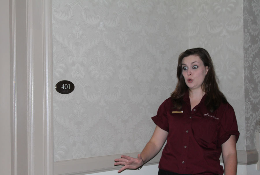 Tour Guide on Ghost and History Tour - Stanley Hotel