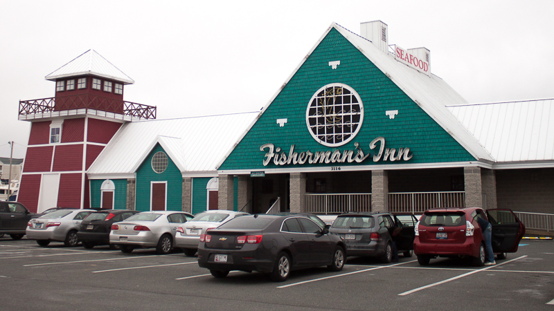 Fisherman's Inn - One of the Best Crab cakes on the Eastern Shore