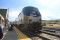 California Zephyr pulling into the station at Granby Colorado