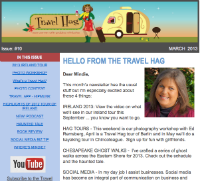 Subscribe to Travel Hag Newsletter