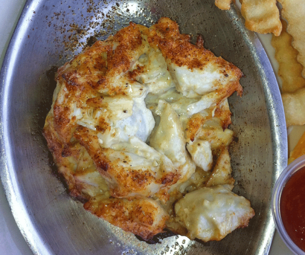 What makes a good crabcake?   little filler and Chesapeake Blue crab meat