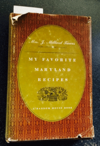 My Favorite Maryland Recipes - Avalynne Tawes